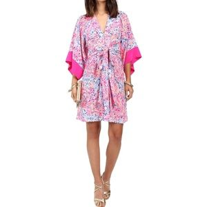 Lilly Pulitzer Pink Multi Kimora Dress NWT